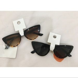 NWT Forever 21 Sunglasses-Brown & Black